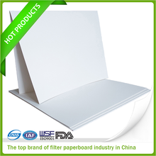 Crepe Filter Papers 5 micron filter paper used in frying oil