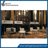 TFR round pipe and drape aluminum backdrop stand pipe drape
