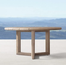 Luxury teak wood <strong>furniture</strong> garden patio sets teak round dinning table