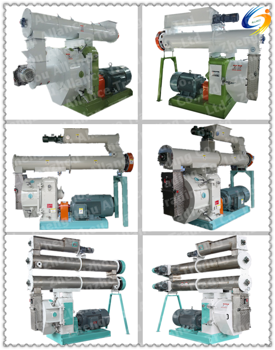 Large output 2000-5000kg/h poultry feed pellet production line