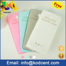 New design cute beautiful transparent mobile phone cover for vivo y28 wholesale