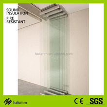 sliding glass room dividers for resturant, shop
