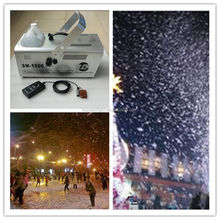 1500W iron big power large indoor artificial snow making machine for sale