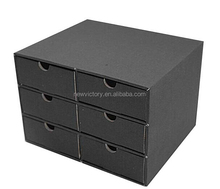 Custom Folding cardboard storage drawer