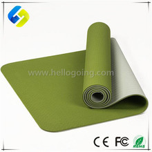High Quality Double Layers Yoga Mat 6mm TPE yoga mat private label