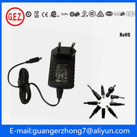 12v 800mA battery charger ac power adapter charger