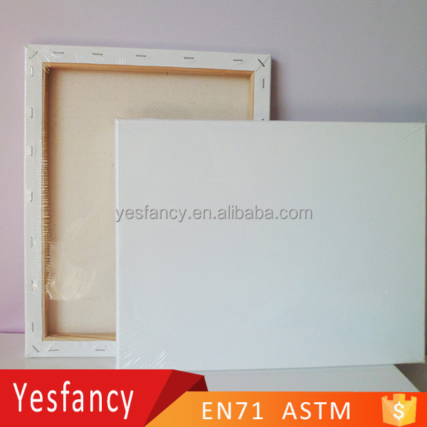 "professional blank stretched canvas 12*16"" artist canvas"