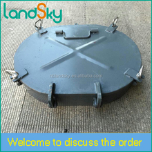LandSky Marine accessories electronic equipment Ship manhole Marine stainless steel Manhole Covers Ship Hatch Cover