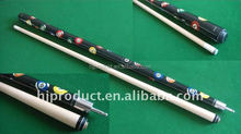 Factory price maple shaft 1/2-pc Pool cue stick