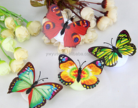 Wholesale mini led lights butterfly for crafts indoor outdoor
