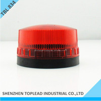 Green ,Red ,Yellow ,Blue Color LED Mini Strobe Warning Light 2 Screw 2 Wires 12V 24V 110V 220V LED Flashing Warning Light