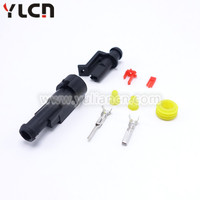 Automobile connector 1 way tyco auto plug 282079-1 Waterproof plug map sensor for wiring harness