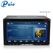 "6.95"" car audio stereo 2 din dvd car audio navigation system wince6.0 OS multimedia dvd player with 3g bluetooth gps"