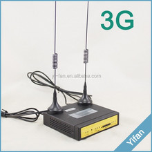 F3427 support router functions 3g 4g rj45 modem with serial port RS232 RS485