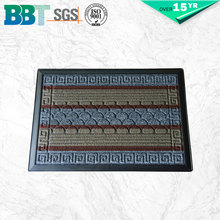 Corrosion-Resistant Colour Combination Rectangle Custom Size Bath Mat - 22