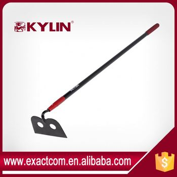 Two Hole Digging Hoe Garden Tool Forged Hoe With Replacement Handle Hacke
