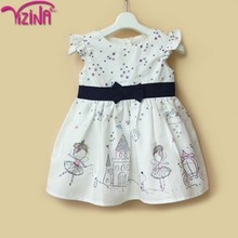 Fashion birthday dress for baby girl with sale