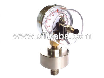 Electrical Contact Pressure Gauges with Screw Type Diaphragm Seal