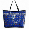 durable trendy good quality pvc shoulder bag/shopping bag