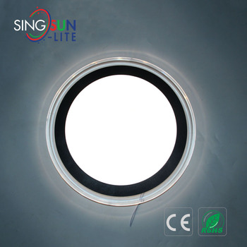 12W 24W LED Ceiling Lamp surface Round Mounted Acrylic led ceiling light 24W