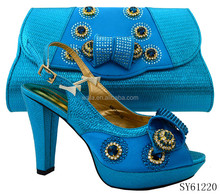 SY61220- (1) blue 2016 new coming italian ladies shoes African style women shoes