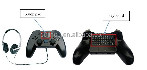 Jinou High-tech And Good-quality Bluetooth Smart Wireless Gamepad/ Controller/ Joystick K mode, G mode and Mouse mode Supported