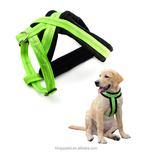 Premium OEM factory custom logo comfortable padded dog harness