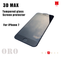 Reliable 3D tempered glass screen protector for iphone 7
