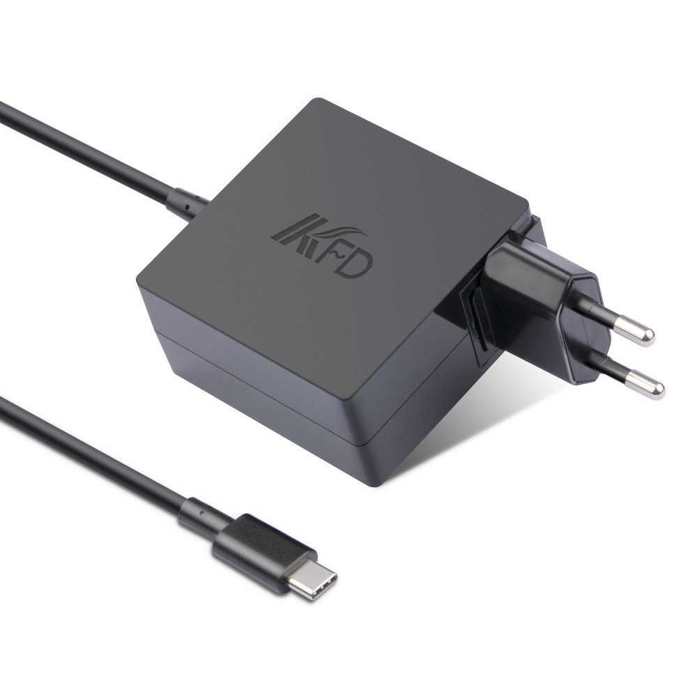 45W Wall Type USB Type-C Adapter Compatiable For HP DELL