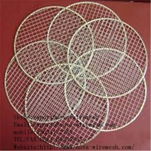 stainless steel crimped wire mesh / grill mesh / barbecue wire mesh hebei anping factory price
