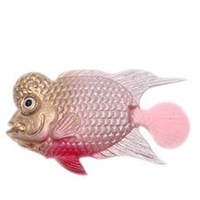 aquarium artificial Plastic Flowerhorn Fish