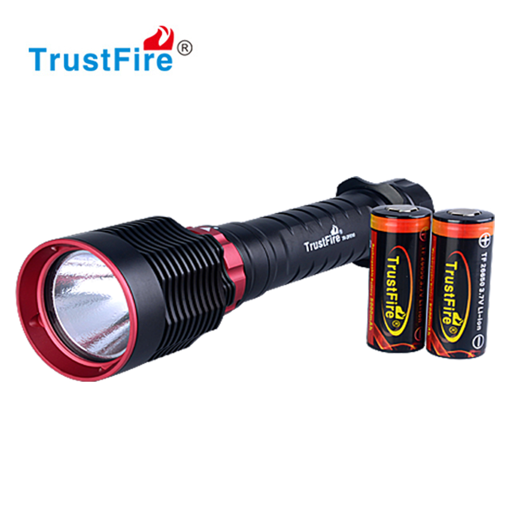Waterproof 1600LM 50m Underwater Diving C REE <strong>L2</strong> LED Flashlight Lamp Torch