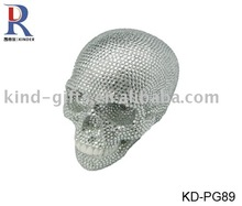 2013 new arrival bling rhinestone gifts resin skull