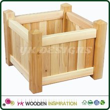 Wood planter stand Light Weight Smart Garden Customized Size