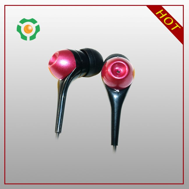 New special Custom Metal Logo Earphones For portable media player