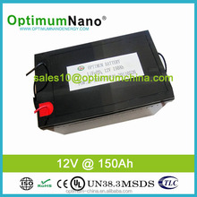 12v 150ah lifepo4 batteries with 3KW inverters for home solar power system