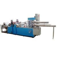 1000 sheet/minute automatic napkin paper folding and cutting machine