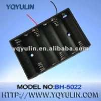 9v D cell battery holder with 12cm wire OEM accepted