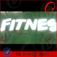 custom sizes and shapes 3d color electronic signs frontlit led lighted channel letters
