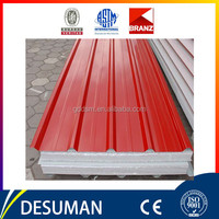 china polyurethane panel composite sandwich panels low price fireproof insulated