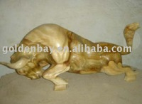 Animal Wooden Sculpture for Sale, Garden Statues