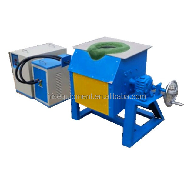 Best selling 50kg scrap copper small Smelting induction melting furnace
