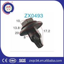 Universal all kinds plastic clip, plastic body clips, plastic retaining clip
