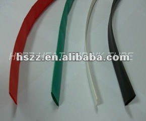 expandable heat shrinkable rubber tube