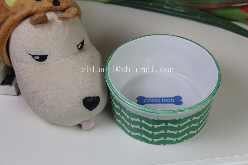ceramic bowls for pet Zibo 2016 new