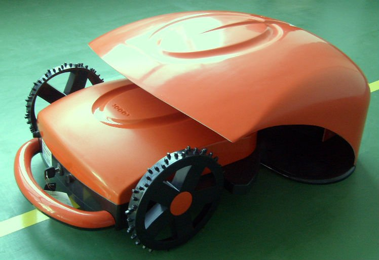 The robot mower is the cheapest and the most advanced ,stable in the world/fuxtec