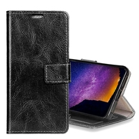 Phone case For Huawei Mate 10 P10 Hornor 9 Y5 Crazy Horse Texture Leather cell phone cover with Card Slot & Holder Flip Photo