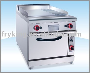 Cooking Range Electric Griddle With Cabinet