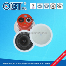 OBT-511 Wonderful Music Coaxial Ceiling Speaker 5/6/8 inch for High-Class Hotel room
