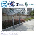 2015 new designed bike storage shed bike shelter bike shed with sturdy construction